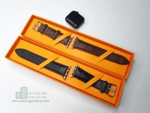 Dây da PU vân cá sấu Apple Watch 38/40mm